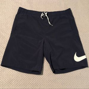 Nike Throwback Silver Tag Lined Swimming Shorts
